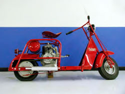 Cushman scooter identification by serial number