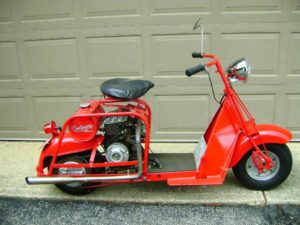 SCOOTERS FOR SALE | Cushman Club of America on 1954 allstate car, 1954 cushman scooter, 1954 lambretta scooter,