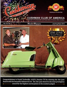 Cushman Club of America   The official website for the