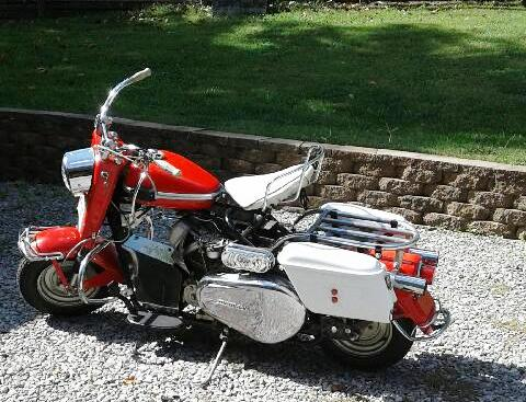 November 2018 | 1963 Cushman Silver Eagle (Red) Excellent condition. Runs great. Have title $5,800.00. Contact: Dale VanDeursen #17271. Phone: 618-996-2316.