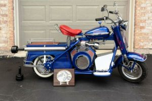 award-winning 1960 cushman super eagle with modified vanguard engine,  two-speed transmission with new seals  asking $5,900 please contact me with  any